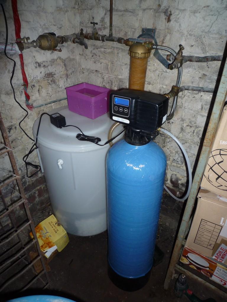 Adoucisseur d'eau sanitaire